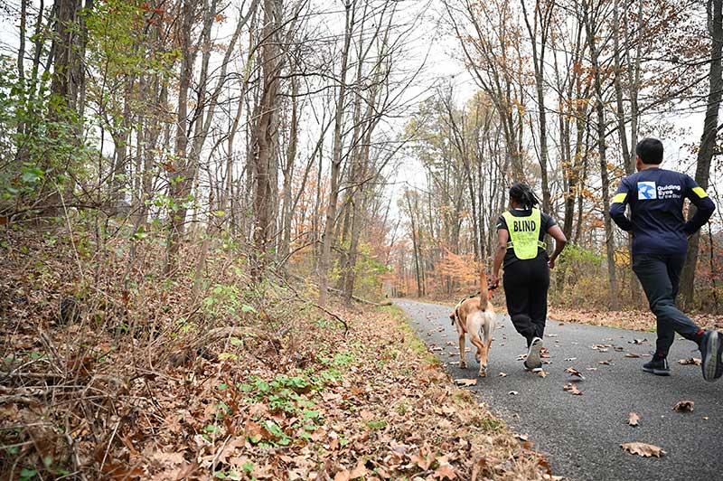 Jasmine And Ben Running Guides Training